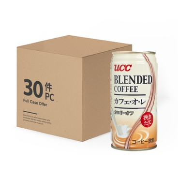 UCC - Blend Milk Coffee Full Case - 185MLX30