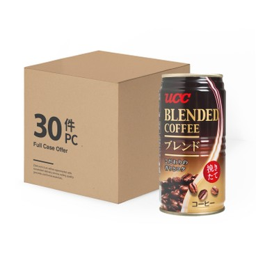 UCC - Blend Coffee Full Case - 185MLX30
