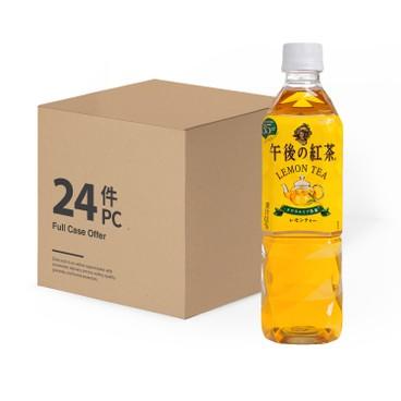麒麟 - 午後紅茶-檸檬茶 - 原箱 - 500MLX24