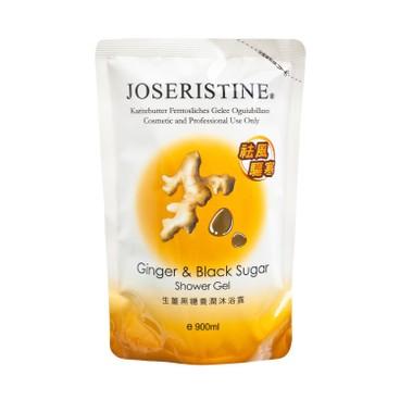 JOSERISTINE BY CHOI FUNG HONG - Ginger Black Sugar Shower Gel Refill Bundle - 900MLX6