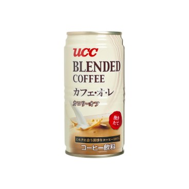 UCC - Blend Milk Coffee - 185MLX3