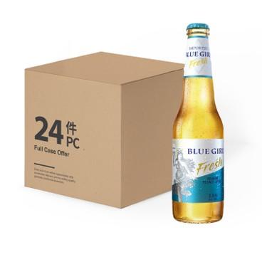藍妹 - Freśh 啤酒 (限定版)-原箱 - 330MLX24