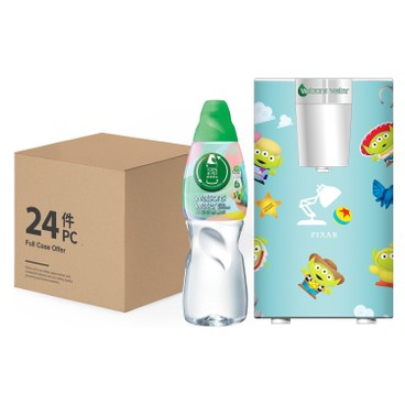 WATSONS - Mini Dispenser With Distilled Water Aliens Series Blue - SET