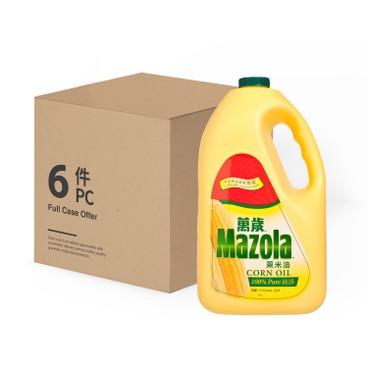 MAZOLA - Corn Oil - 3.5LX6