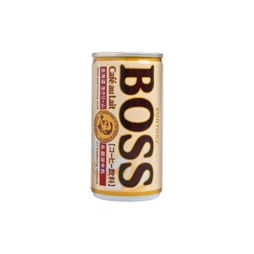 SUNTORY - Boss cafe Au Lait - 185MLX3