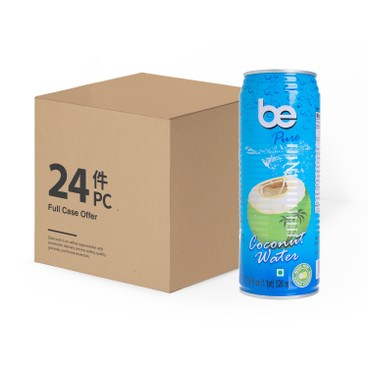 Be - Pure 100 Coconut Water Case - 520MLX24