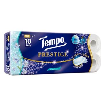 TEMPO - Prestige 4 ply Bluebell Bathroom Tissue 3 pc - 10'SX3