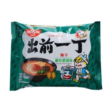 DE-MA-E - INSTANT NOODLE-SUPER HOT TONKOTSU - 100GX5