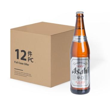 ASAHI - Japanese Beer Bottle case - 640MLX12