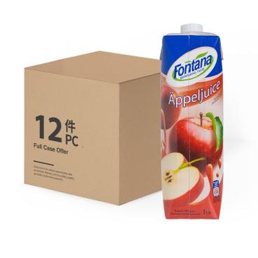 FONTANA - Apple Juice case Deal - 1LX12