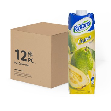 FONTANA - Guava Juice case Deal - 1LX12