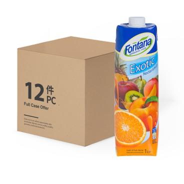 FONTANA - Exotic Juice case Deal - 1LX12