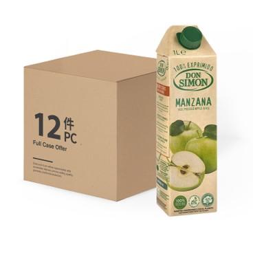 DON SIMON - 100% 純蘋果汁-原箱 - 1LX12