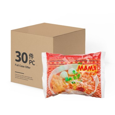 MAMA - Instant Rice Chand Noodle tom Yum case - 55GX30