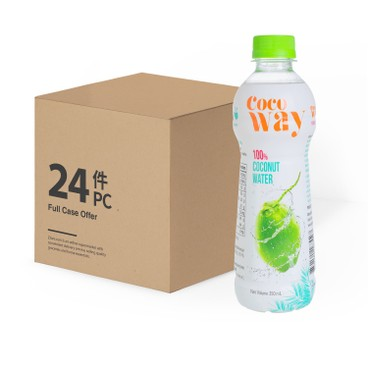 COCO WAY - 100 Coconut Water case Deal - 350MLX24