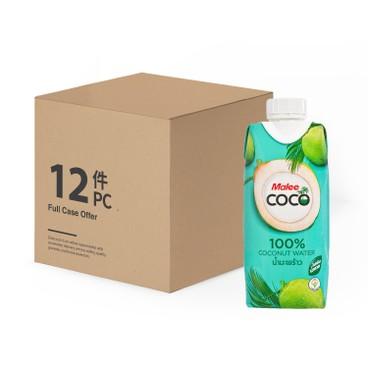 MALEE - 100% 椰子水-原箱 - 330MLX12