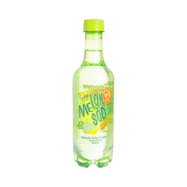 WATSONS - Soda Water hokkaido Melon Flavoured - 420MLX4