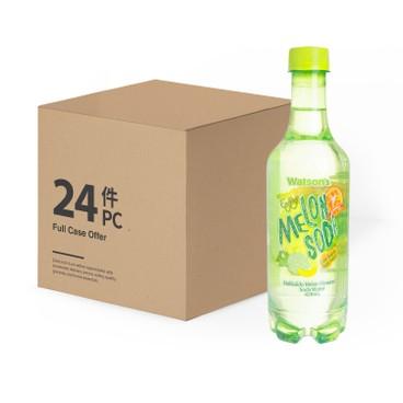 WATSONS - Soda Water hokkaido Melon Flavoured case Offer - 420MLX24