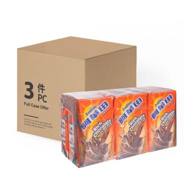 OVALTINE - RICH CHOCOLATE MALTED MILK DRINK-CASE OFFER - 250MLX6X3