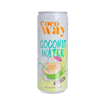 COCO WAY - Coconut Water With Pulp Can - 310MLX3