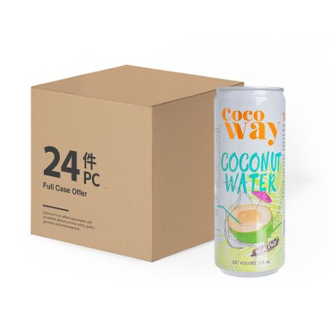COCO WAY - Coconut Water With Pulp Can case Offer - 310MLX24