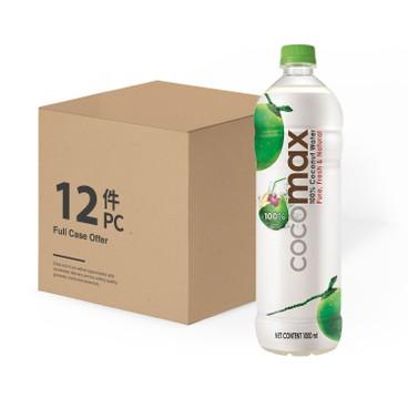 COCOMAX - 100% 天然椰青水-原箱 - 1LX12