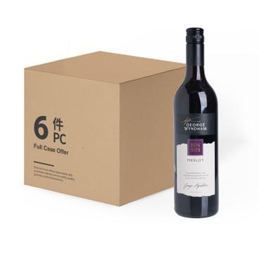 GEORGE WYNDHAM - Red Wine Bin 999 Merlot Case Offer - 750MLX6