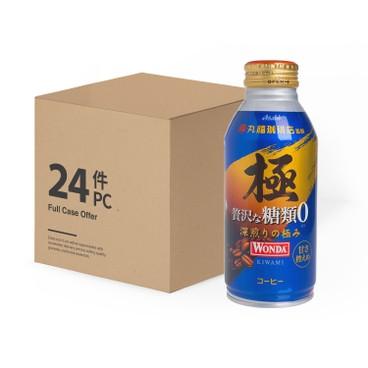 ASAHI - WONDA KIWAMI NO SUGAR - CASE OFFER - 370MLX24