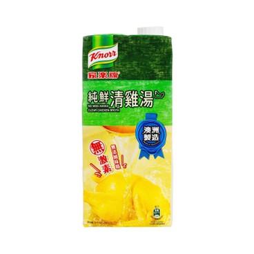 家樂牌 - (只限換購)純鮮清雞湯 (不加味精) - 1L