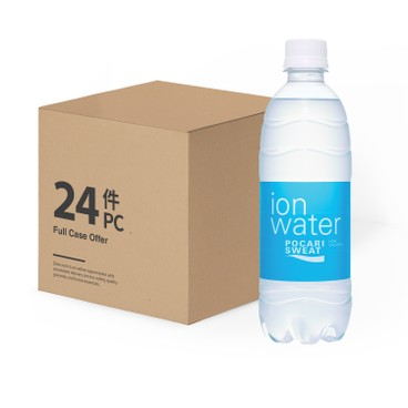 POCARI - Ion Water Drink case Offer - 500MLX24