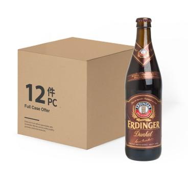 ERDINGER艾丁格 - 小麥黑啤酒 (大樽裝) - 原箱 - 500MLX12