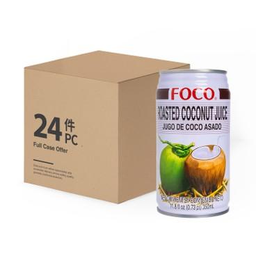 FOCO - Roasted Coconut Juice Case Offer - 350MLX24