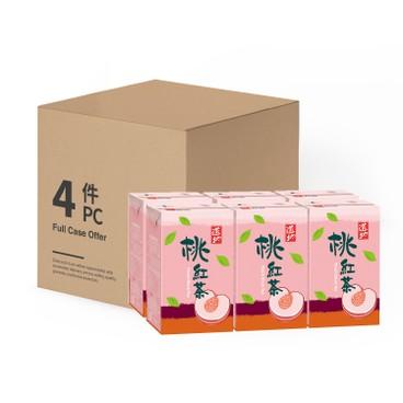 TAO TI - Peach Black Tea case Offer - 250MLX6X4