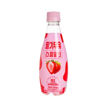 NAMYANG - 士多啤梨奶味汽水 - 350MLX3