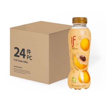 iF - Longan Juice Drink With Aloe Vera case Offer - 350MLX24