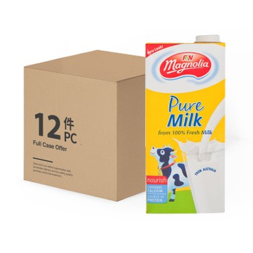 MAGNOLIA - 全脂奶-原箱 - 1LX12