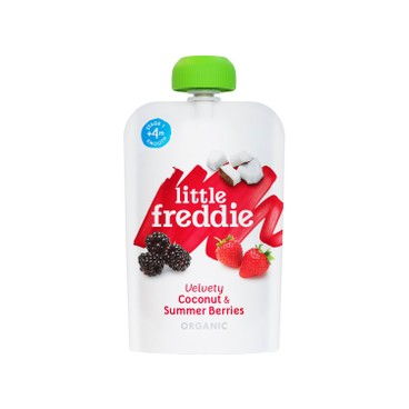LITTLE FREDDIE - Organic Velvety Coconut Summer Berries 6 pc - 100GX6