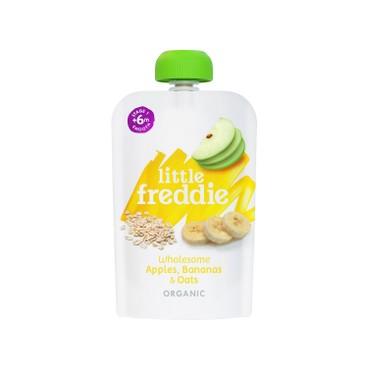 LITTLE FREDDIE - Organic Wholesome Apples Bananas Oats 6 pc - 100GX6