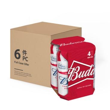 BUDWEISER - Beer Case Offer - 500MLX4X6