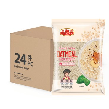 IDEAL - QUICK COOKING OATMEAL-CASE OFFER - (350G+100G)X24