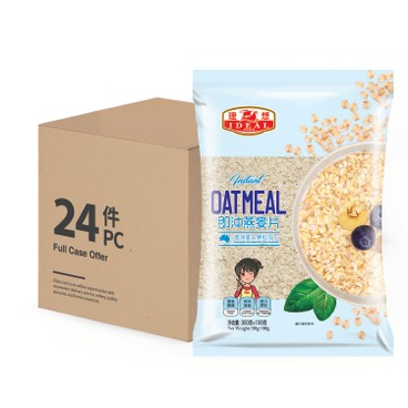IDEAL - INSTANT OATMEAL-CASE OFFER - (350G+100G)X24