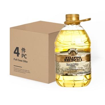 百益 - 意大利清淡欖油 (可煎炒煮炸)-原箱 - 3LX4