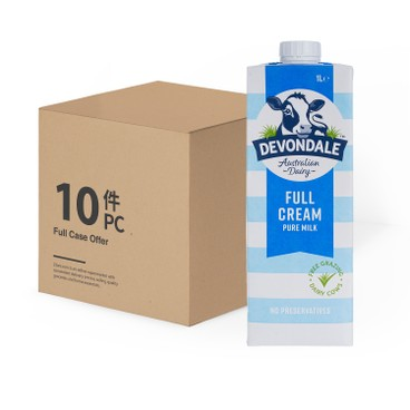 DEVONDALE - Full Cream Milk Case - 1LX10