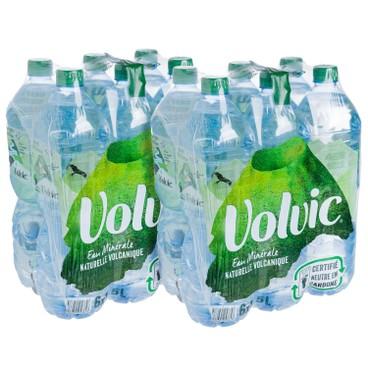 VOLVIC 富維克(平行進口) - 天然礦泉水-2箱 - 1.5LX6X2