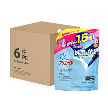 ARIEL - 超濃縮抗菌抗蟎洗衣液 - 1360GX6