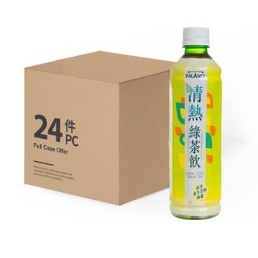 MEKO - Balancy Herbal Cool green Tea case Offer - 430MLX24