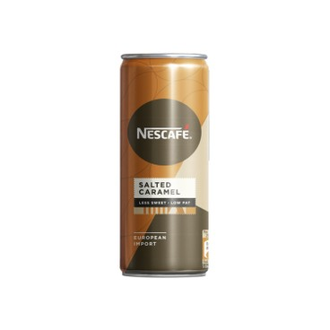 NESCAFE - Salted Caramel Latte less Sweet - 250MLX4