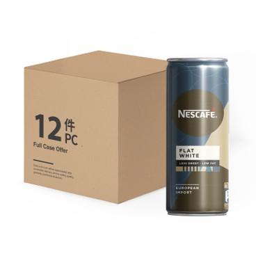 NESCAFE - Flat White less Sweet case Offer - 250MLX12