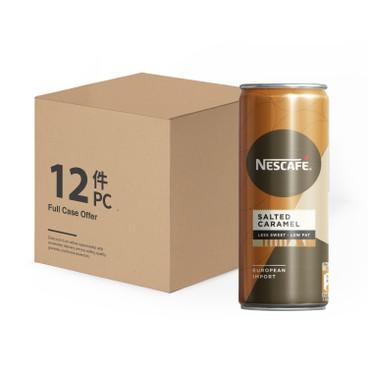 NESCAFE - Salted Caramel Latte less Sweet case Offer - 250MLX12