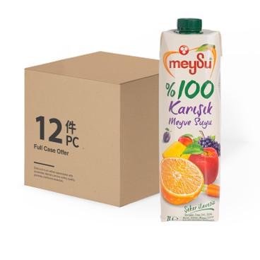 MEYSU - 100% FRUITMIX JUICE - CASE OFFER - 1LX12